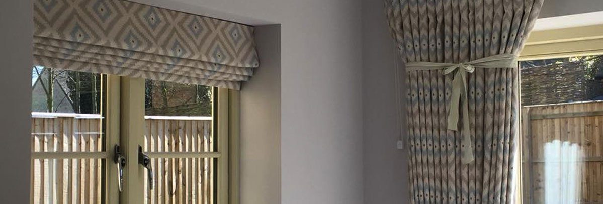 Patterned Curtains and Blinds