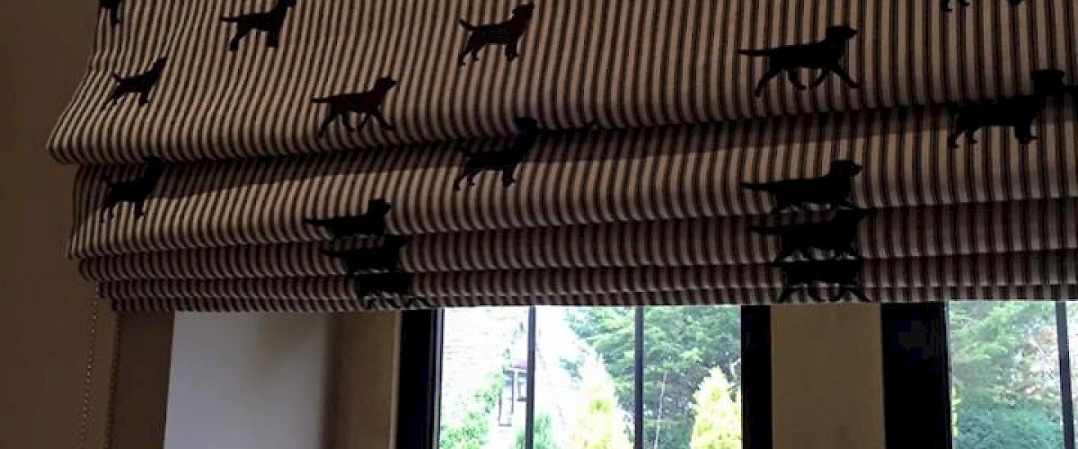 Labrador Patterned Blinds