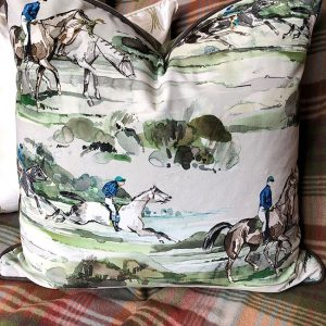 Morning Gallop Cushion