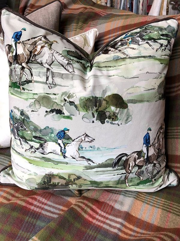 Morning Gallop Cushion
