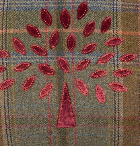 Mulberry Cushion Pattern