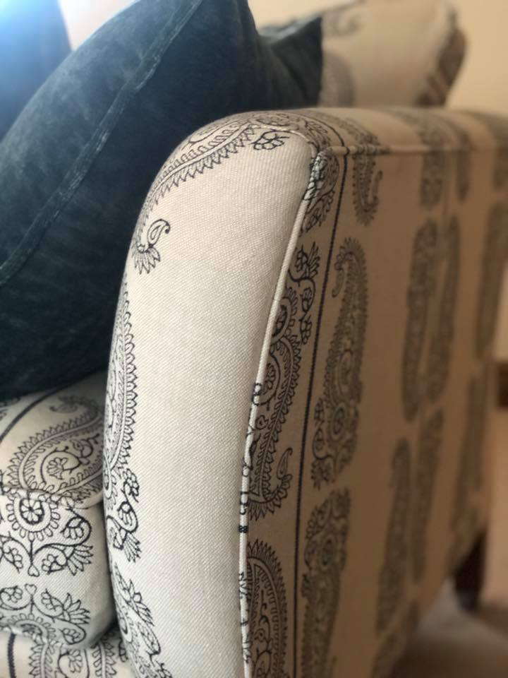 Sofa Arm Close Up
