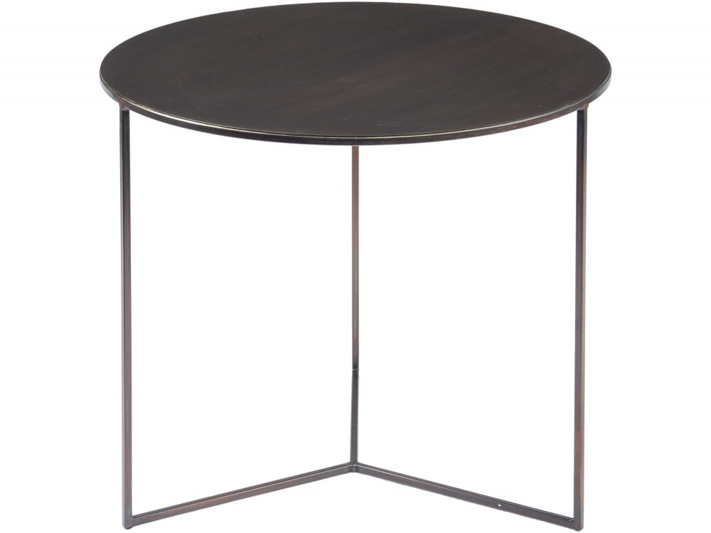 Fitzroy Bronze Side Table Large Louise Jackson Interior Design